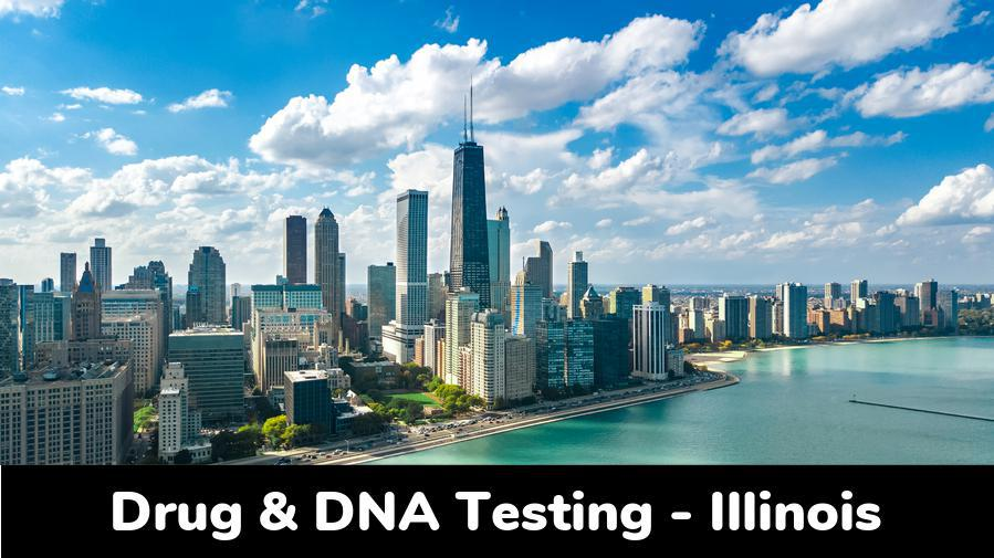 Illinois DNA & Drug Testing: Clinic Locations by City in IL - state-image