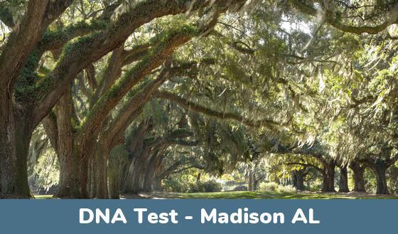 Madison AL DNA Testing Locations