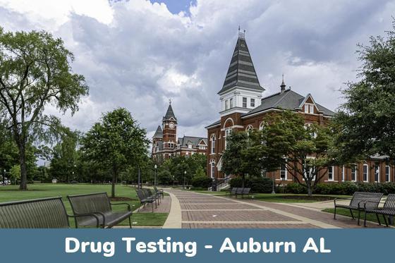 Auburn AL Drug Testing Locations
