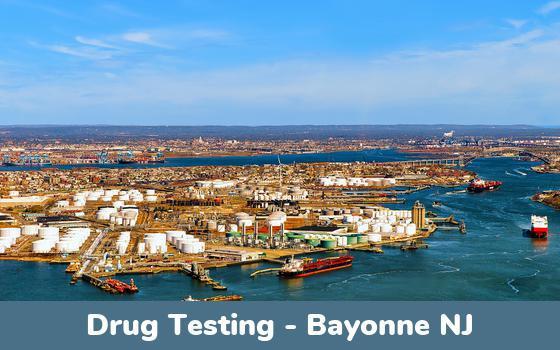 Bayonne NJ Drug Testing Locations