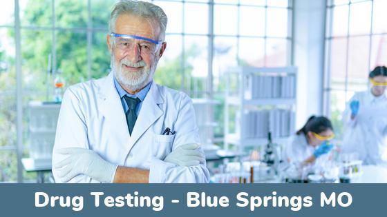 Blue Springs MO Drug Testing Locations