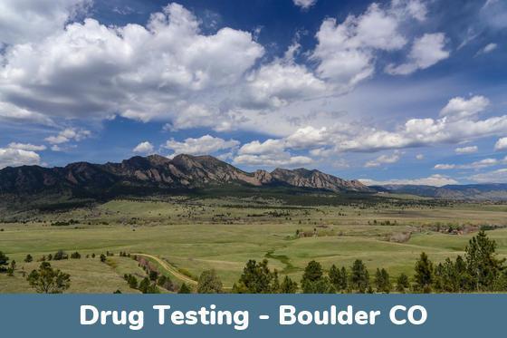 Boulder CO Drug Testing Locations