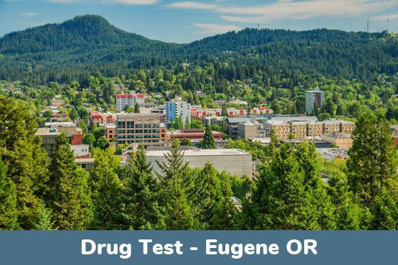 Eugene OR Drug Testing Locations