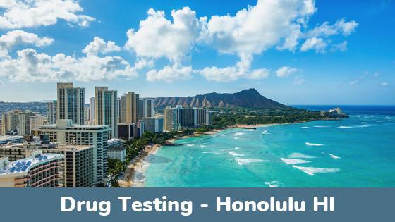 Honolulu HI Drug Testing Locations