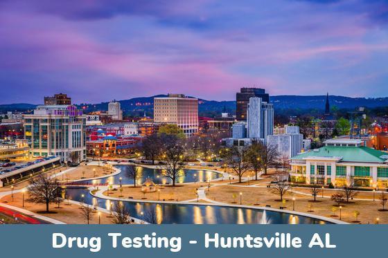 Huntsville AL Drug Testing Locations