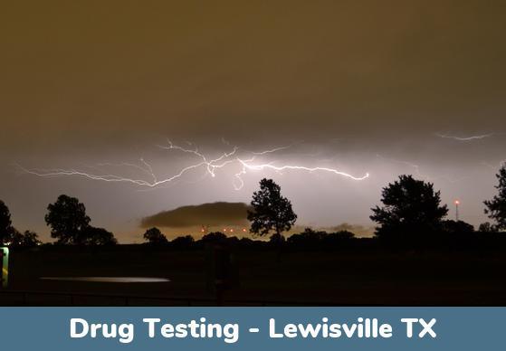 Lewisville TX Drug Testing Locations
