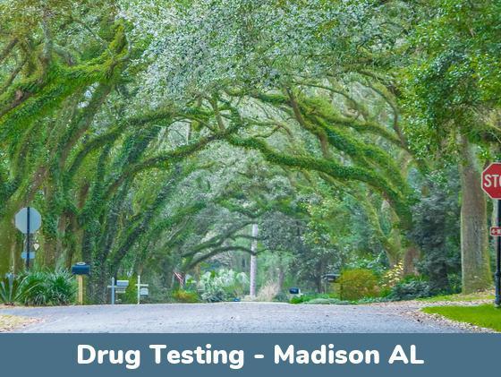 Madison AL Drug Testing Locations