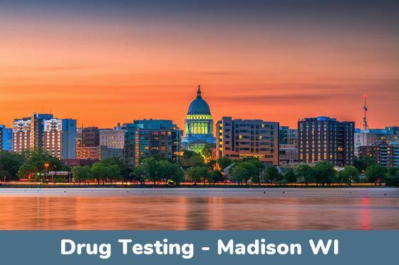 Madison WI Drug Testing Locations