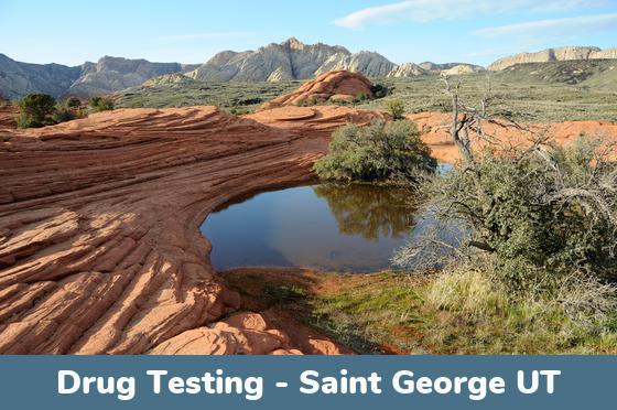 Saint George UT Drug Testing Locations