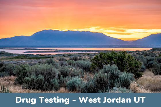 West Jordan UT Drug Testing Locations