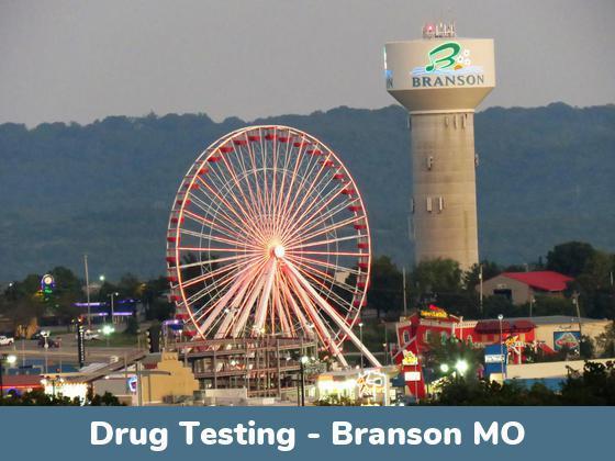 Branson MO Drug Testing Locations