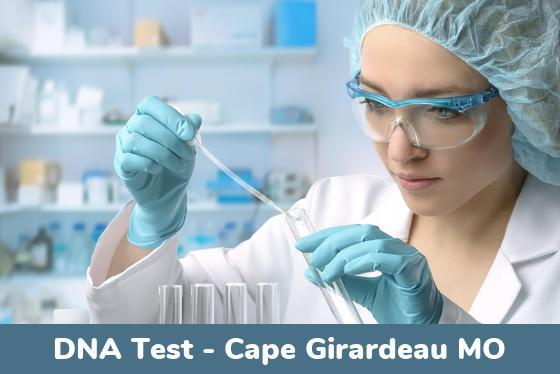 Cape Girardeau MO DNA Testing Locations