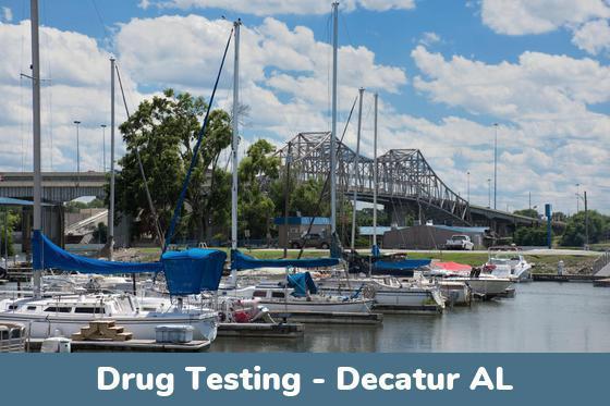 Decatur AL Drug Testing Locations