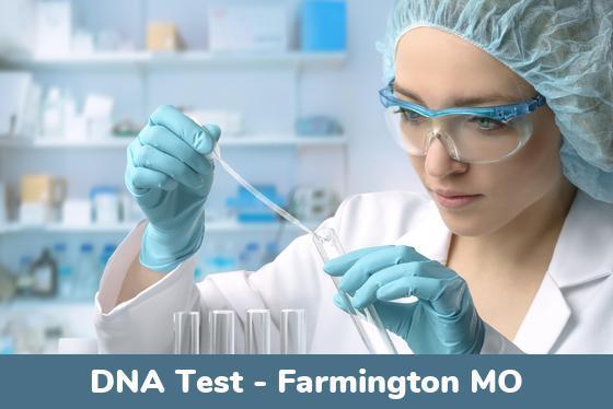 Farmington MO DNA Testing Locations