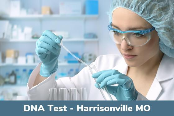 Harrisonville MO DNA Testing Locations