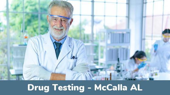McCalla AL Drug Testing Locations