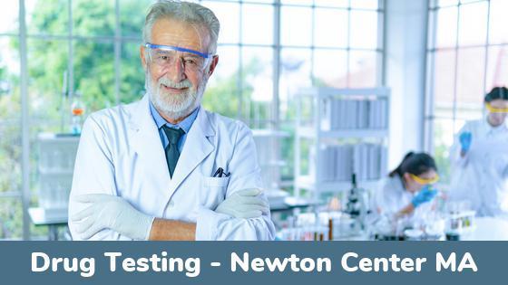 Newton Center MA Drug Testing Locations