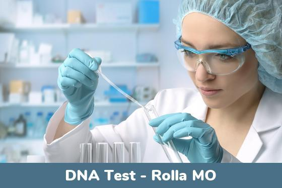 Rolla MO DNA Testing Locations