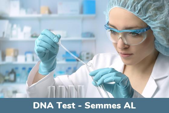 Semmes AL DNA Testing Locations