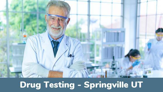 Springville UT Drug Testing Locations