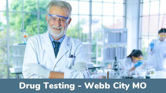 Webb City MO Drug Testing Locations